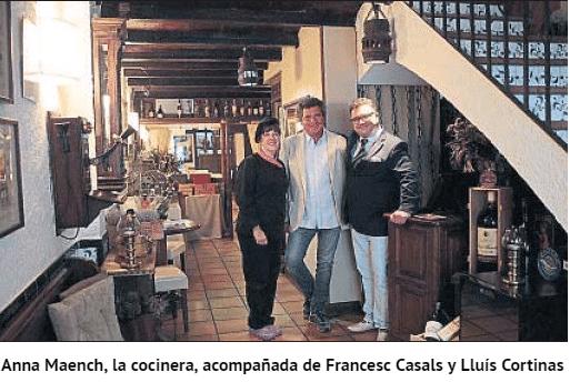 Casa Jordi A La Vanguardia De La Mà De  '5 A Taula'