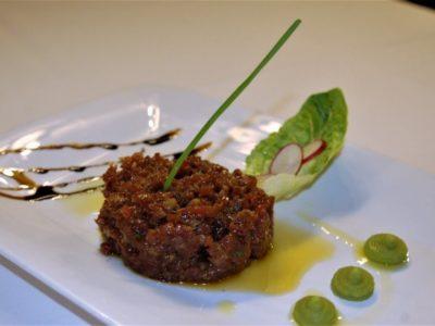 50 Anys Al Teu Costat #22 · Steak Tartar De Filet De Vedella